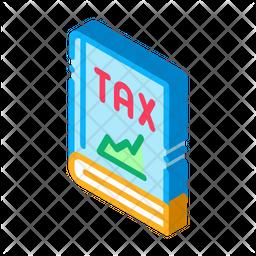 Finance Tax Book Icon