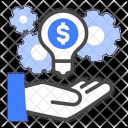 Financial advisor Dualtone Icon