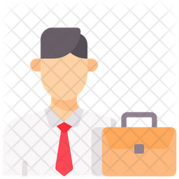 Financial Consultant Flat Icon