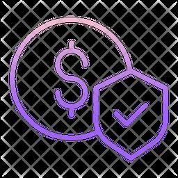 Financial Dollar Security Icon