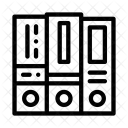 Financial Folders Icon