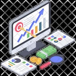 Financial Goals Vector Icon