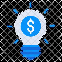 Financial Idea Icon