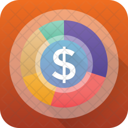Financial Infographic Icon