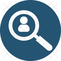 Find Man Rounded Icon