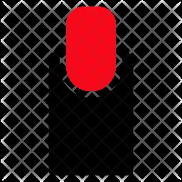 Finger Glyph Icon