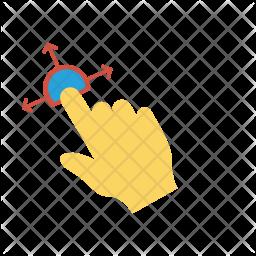 Finger gesture Icon