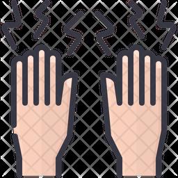 Finger Pain Icon