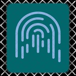 Finger Print Lock Icon