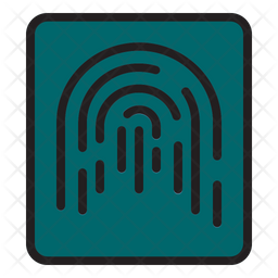 Finger Print Lock Icon
