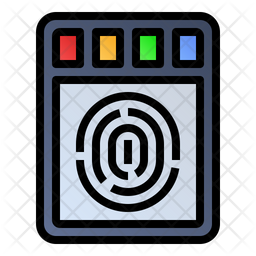 Finger print scanner Icon