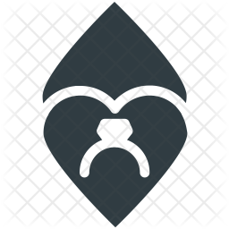 Fingering Glyph Icon