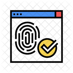 Fingerprint Access Icon
