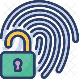 Fingerprint Unlock Icon