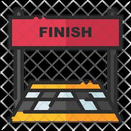 Finish Line Icon