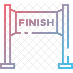 Finish Line Icon