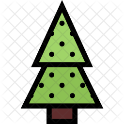Fir, Tree, Christmas, Holidays, New, Year, Winter Icon png