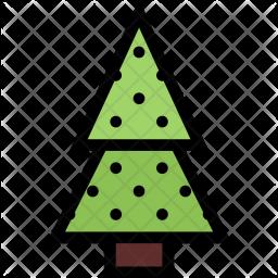 Fir, Tree, Christmas, Holidays, New, Year, Winter Icon