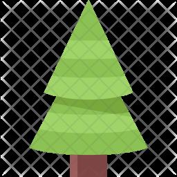 Fir, Tree, New, Year, Christmas, Winter, Holidays Icon