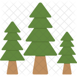 Fir Trees Icon