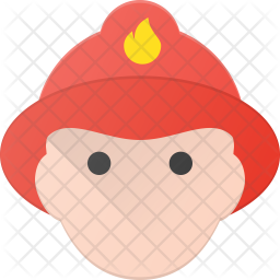 Fire fighter Icon