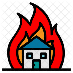 Fire Insurance Icon Of Colored Outline Style Available In Svg Png Eps Ai Icon Fonts