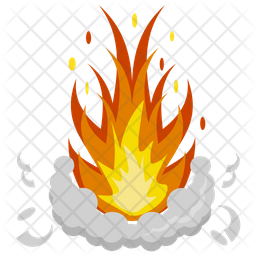 Fire Splash Icon
