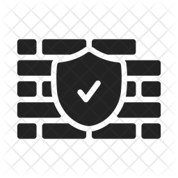 Firewall Icon Of Glyph Style Available In Svg Png Eps Ai Icon Fonts