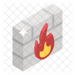 Firewall Icon Of Isometric Style Available In Svg Png Eps Ai Icon Fonts