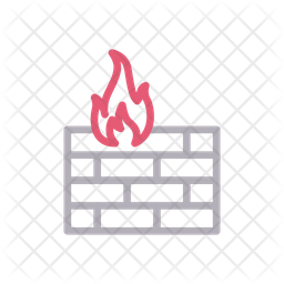 Firewall Icon Of Line Style Available In Svg Png Eps Ai Icon Fonts
