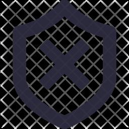 Firewall Off Icon