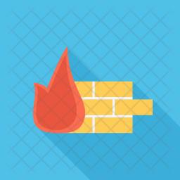 Firewall, Seo, Business, Startup, Marketing, Optimization Icon