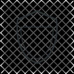 Firewall Line Icon