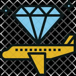 First-class flight Icon