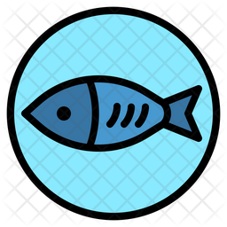 Fish Icon Of Colored Outline Style Available In Svg Png Eps Ai Icon Fonts