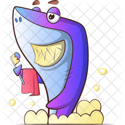 Fish Bathing Icon