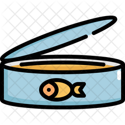 Fish Canned Icon
