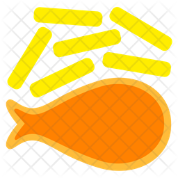 Fish And Chips Icon
