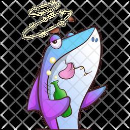 Fish Drinking Icon