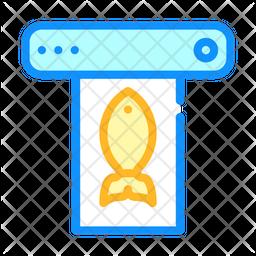 Fish Fryer Icon