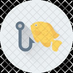 Fish hunting Icon