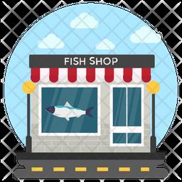 Fish Shop Icon