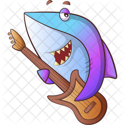 Fish Singing Icon