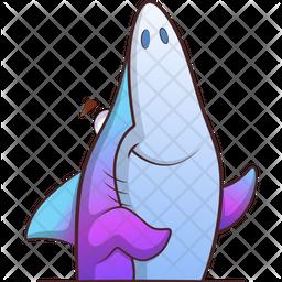 Fish Smiley Icon