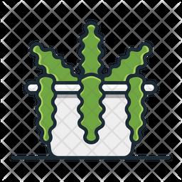 Fishbone Cactus Icon