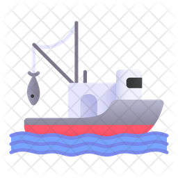Download Free Fishing Boat Icon Of Gradient Style Available In Svg Png Eps Ai Icon Fonts