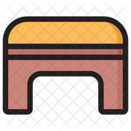 Fitness Bench Icon