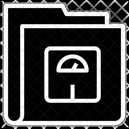 Fitness Folder Icon