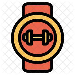 Fitness Watch Icon Of Colored Outline Style Available In Svg Png Eps Ai Icon Fonts