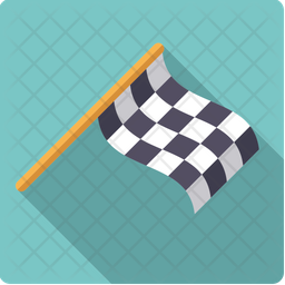 Checkered Flag Icon Of Flat Style Available In Svg Png Eps Ai Icon Fonts